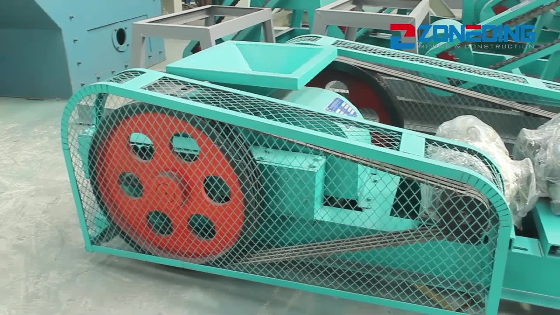Low price of Smooth double roller crusher rock double roll crusher sale