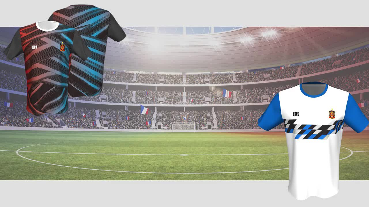 Printed Logo Sportswear Soccer Training Shirt