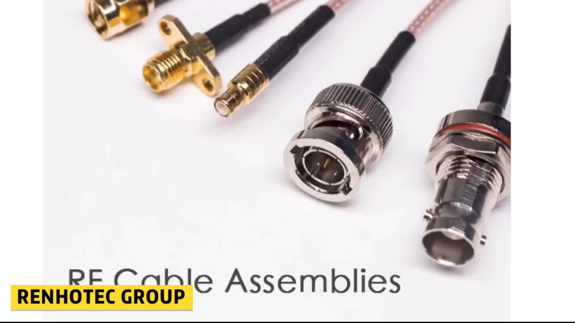 RG59 BNC Male naar Male Connector RF Coaxiale Kabel CCTV BNC Kabel