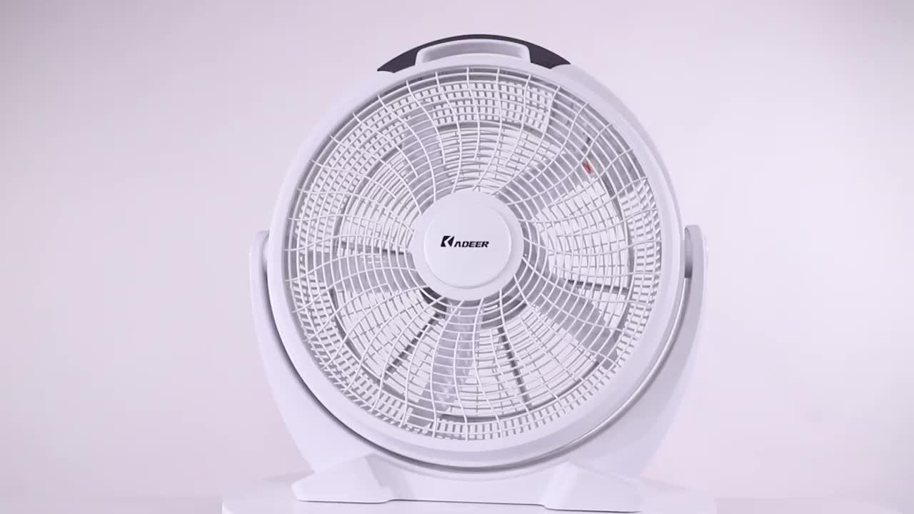 Air Cooling Rechargeable Electric Fan Box Fan