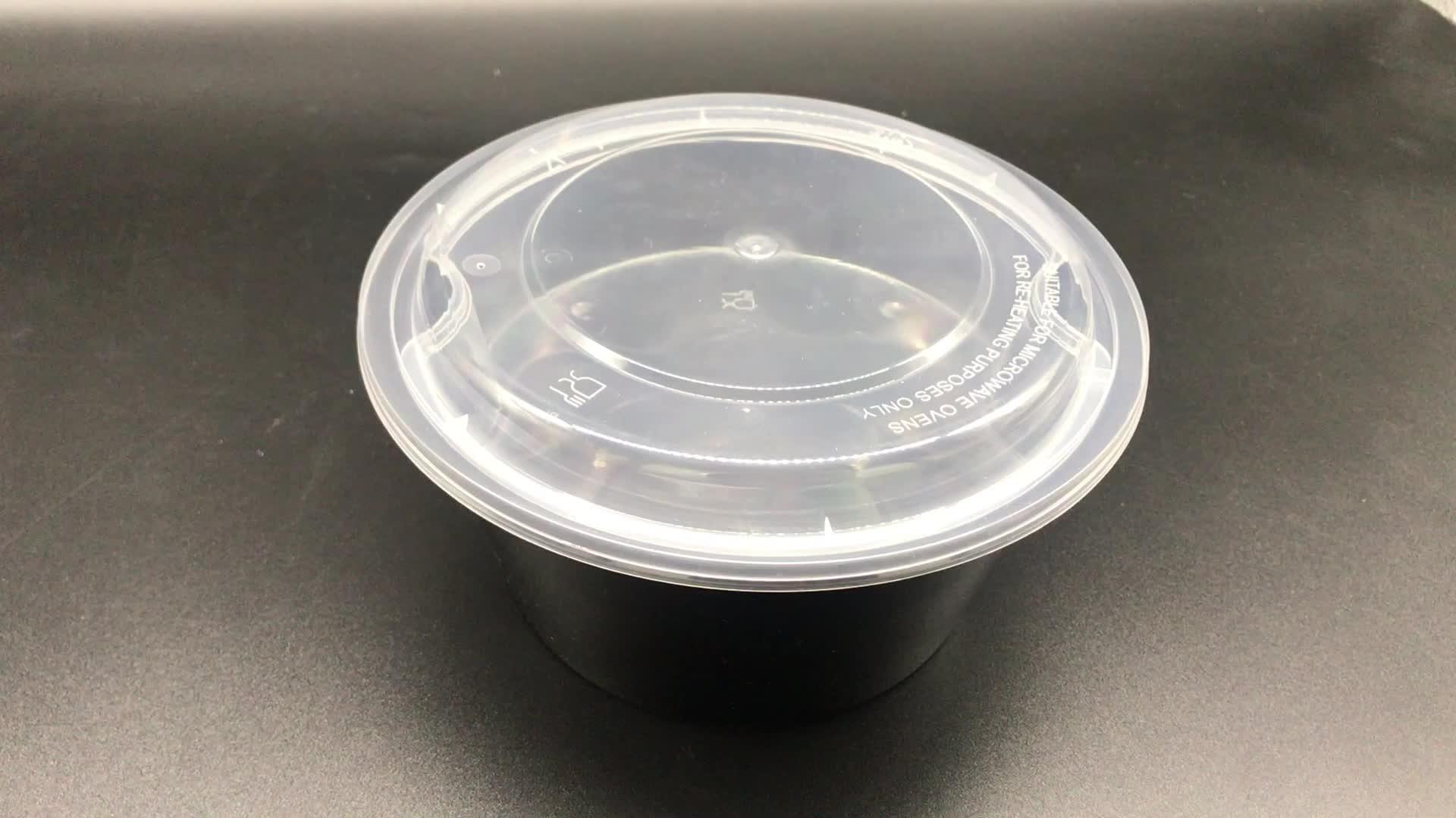 Compartimento venta premium reutilizable de plástico caja de almuerzo con tapa