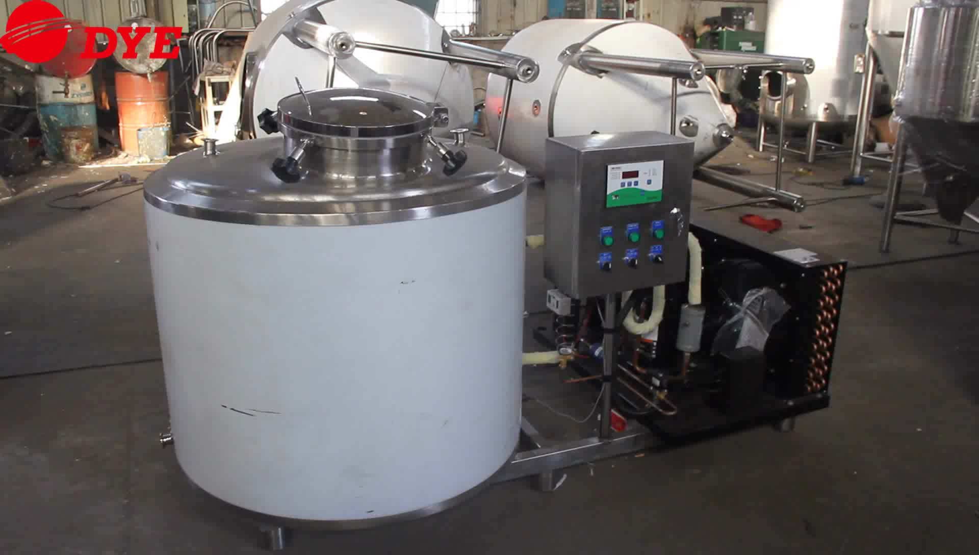 बिक्री के लिए डेयरी प्रसंस्करण उपकरण दूध ठंडा टैंक