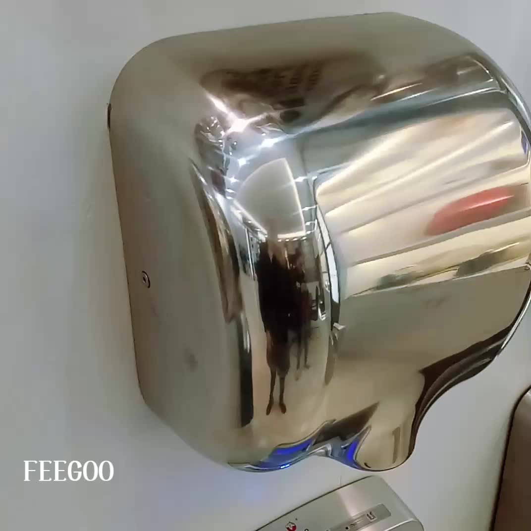 China Manufacturers Stainless Steel Jet Air Hand Dryer Electric