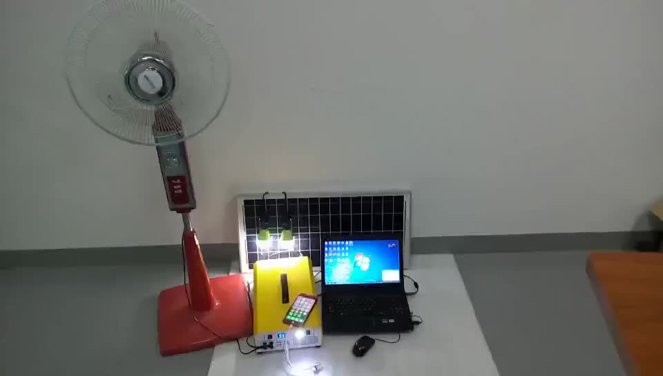 500w Lithium New Solar AC Kit For Home And Camping Use Can Power For AC TV, Laptop, Fan PV-L500W