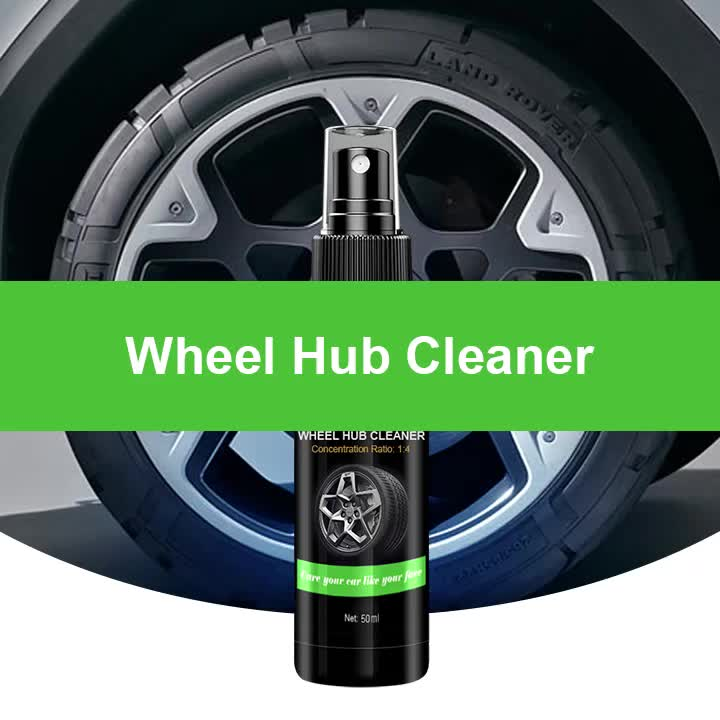 2019 hot sell High Quality 150ml  alloy  hub wheel cleaner agent