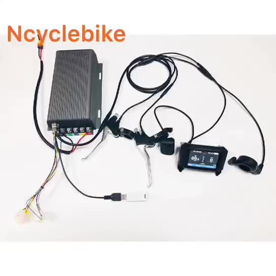 QS 273 TFT LCD Sabvoton controller e bike kit 8000W electric bike conversion kit