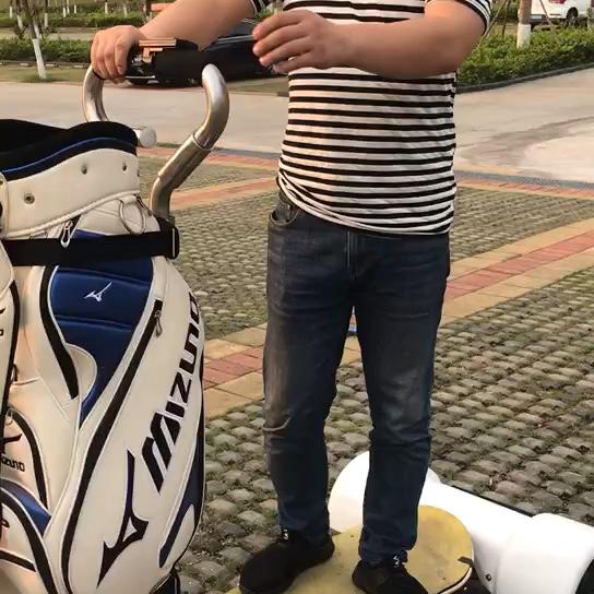 2019 ホット 10.5 インチ 4 輪電動ゴルフスクーターゴルフボードゴルフカートモビリティスクーター