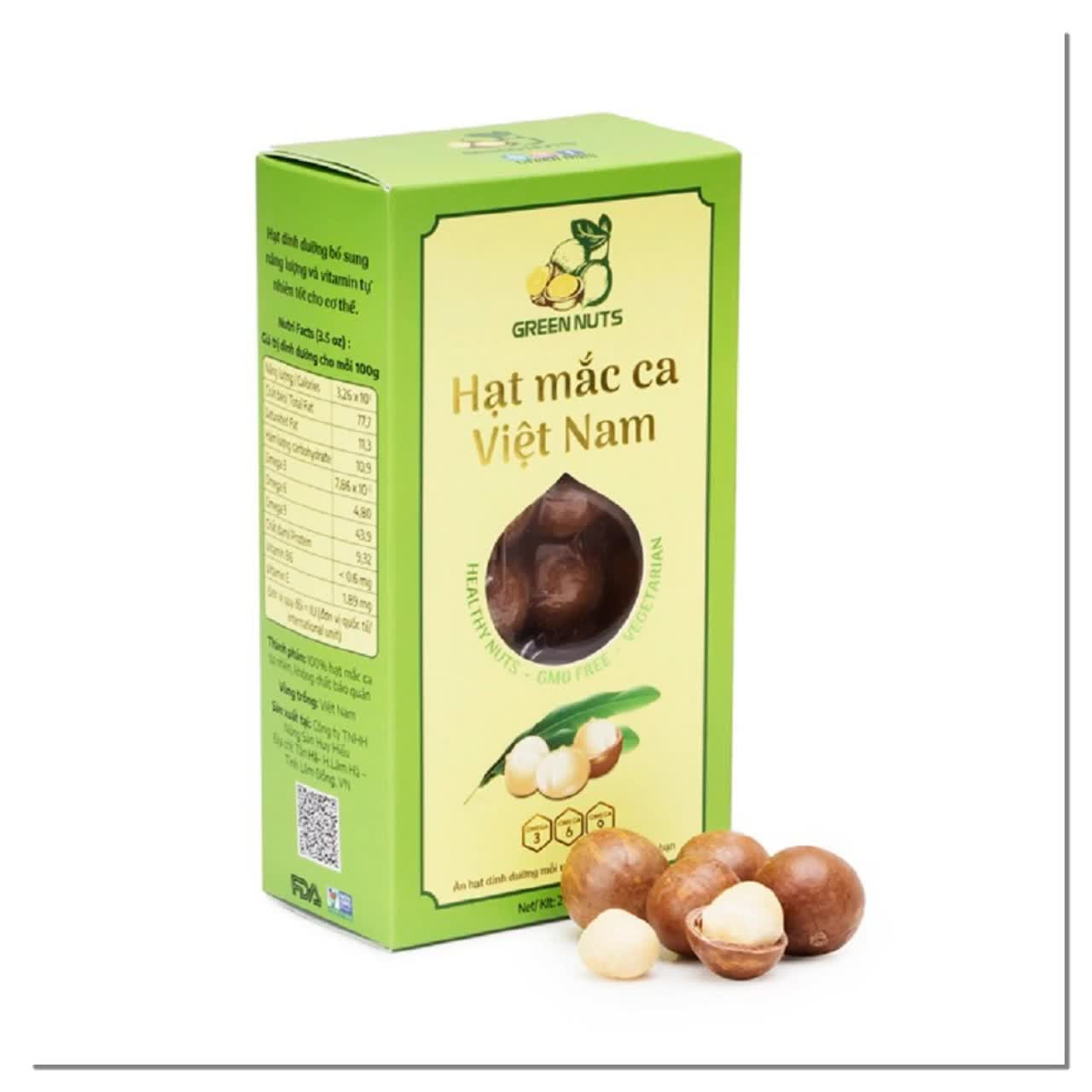 OEM Acceptable FDA Approved Hot Products Vietnam Macadamia Nuts