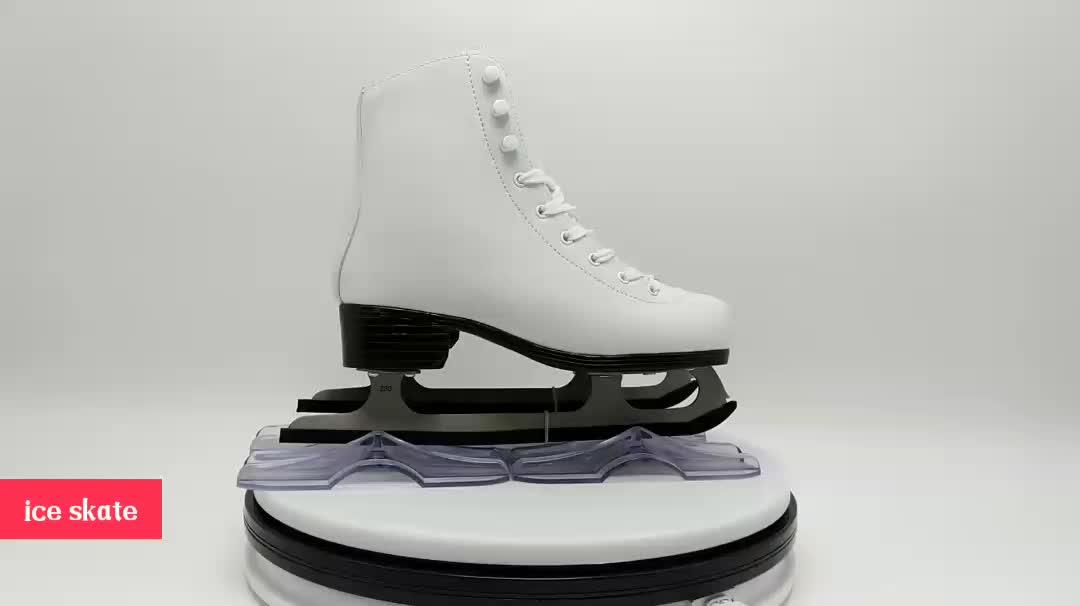 2019 حار بيع الصويا لونا الجليد تزلج الأحذية للأطفال والكبار الجليد الرقم تزلج