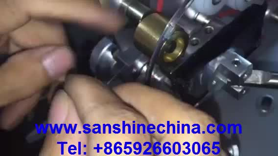 fine wire small toroid coil winding machine 0.05 ~0.3mm winding wire size