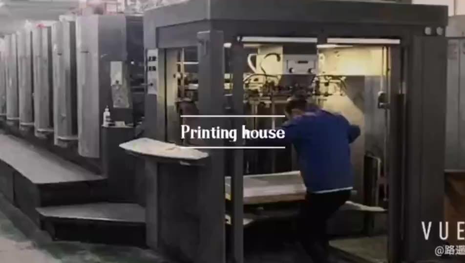 주문 인쇄 마분지 D 반지 바인더 인쇄