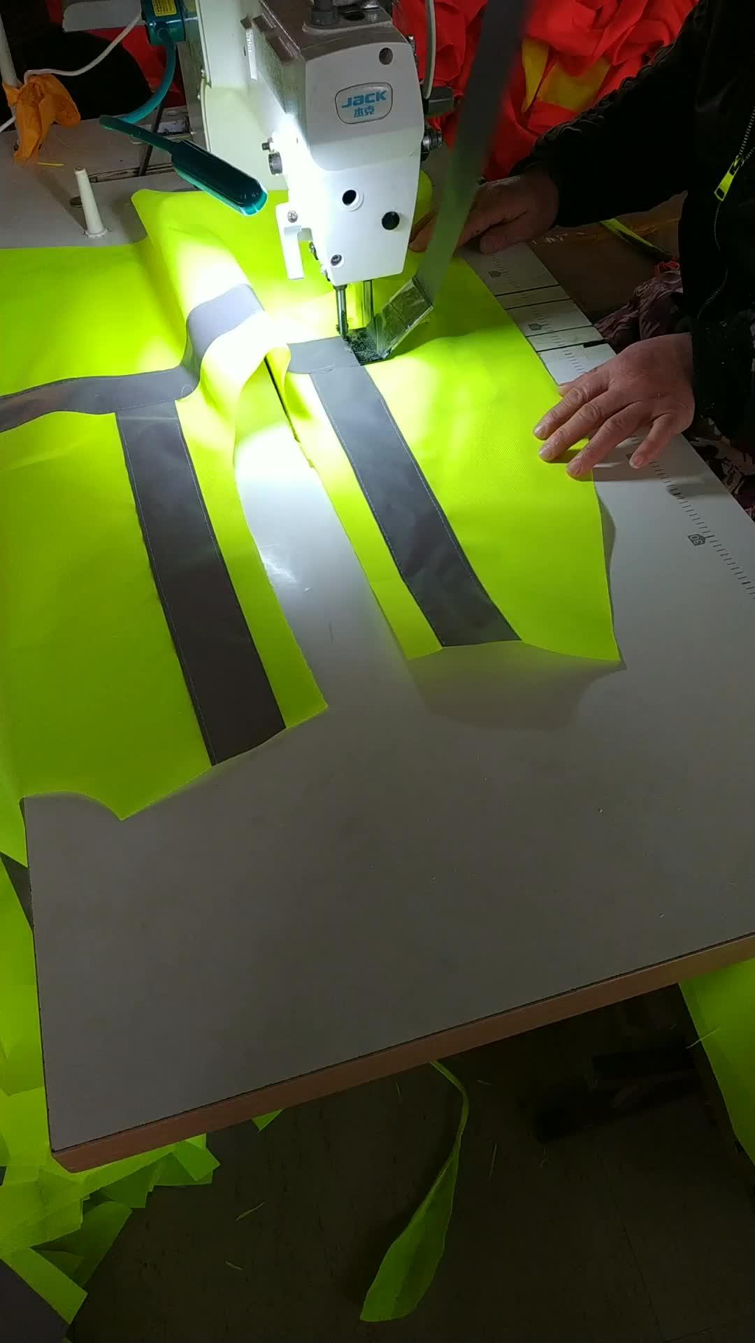 Personalizzabile riflettente di sicurezza della maglia in esecuzione per il lavoro