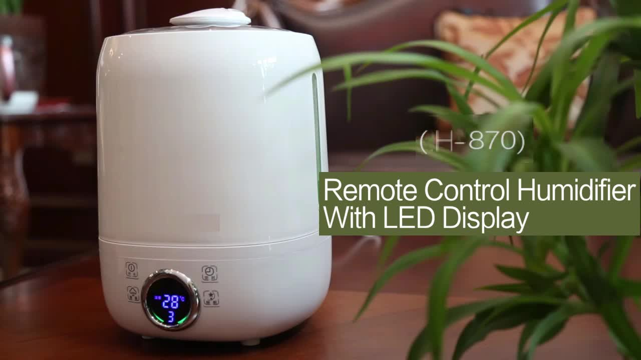 4.1L Tabletop Aroma Digital Control Aromatic Diffuser Humidifier