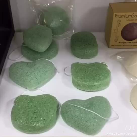 100% Natural Baby Bath Organic Private Label Facial Cleansing Konjac Sponge with OEM/ODM Service Manufacturer