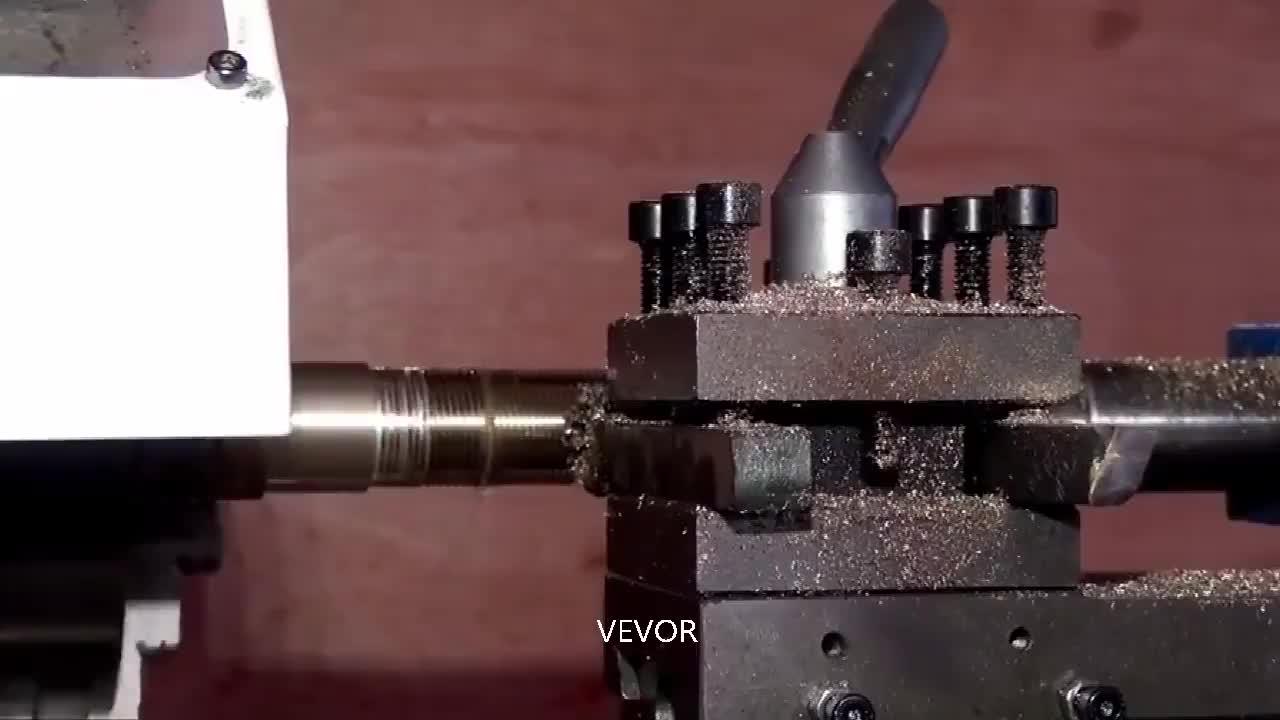 Manual Mini Mesin Bangku 210ZXJ Bubut/Metal Gear Mesin Bubut untuk Logam