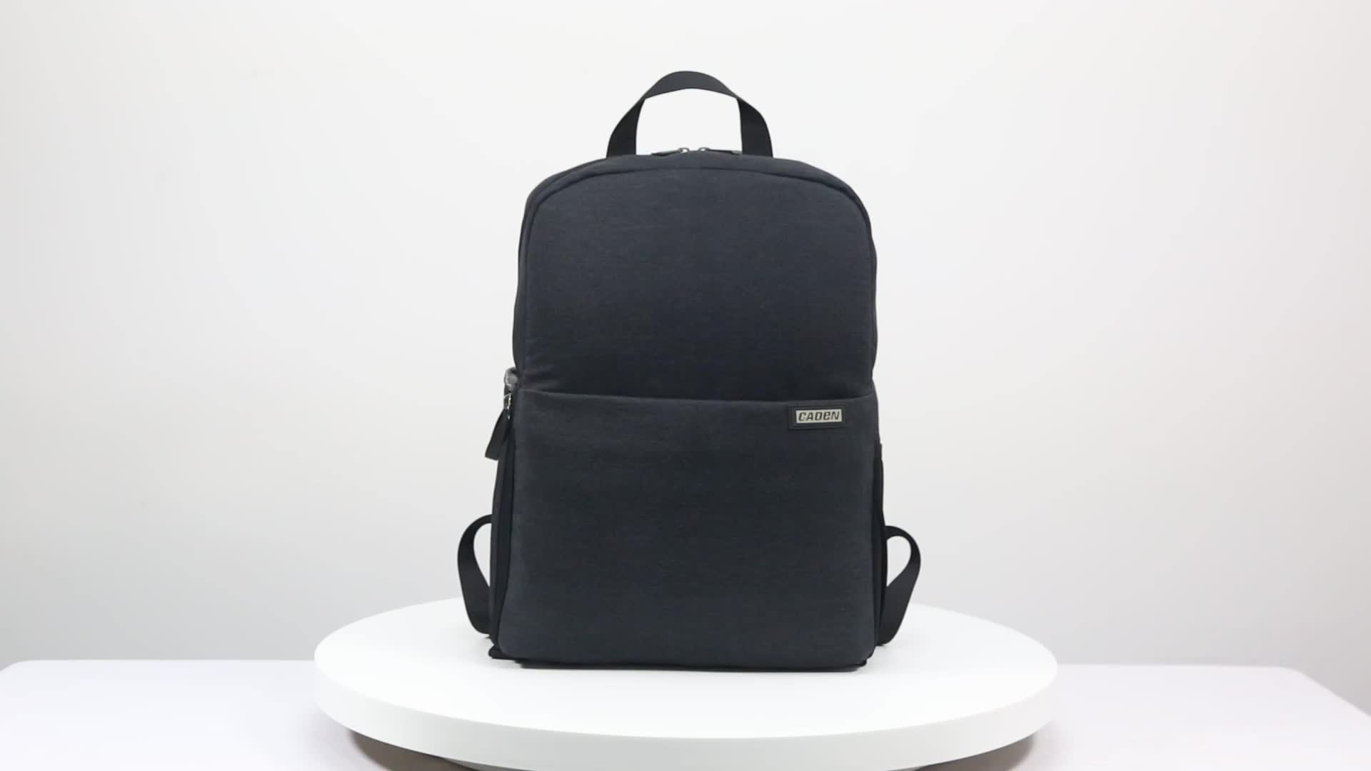 Caden Dslr Waterproof Camera Laptop Backpack Pouch Video Bag  For Photography