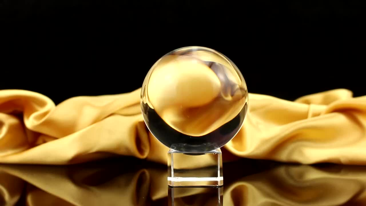 transparent good k9 solid glass crystal ball for sale