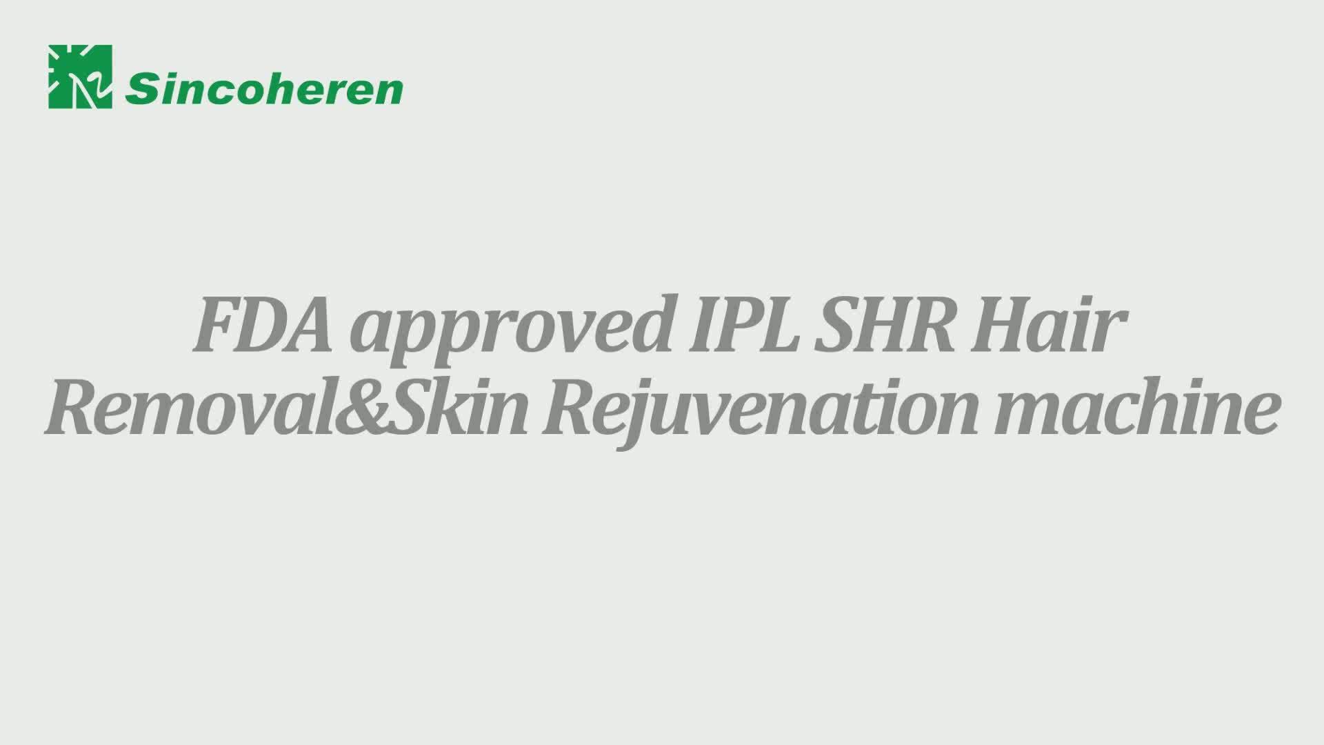 Di alta Qualità Ipl E Laser Macchina di Bellezza di Ringiovanimento Della Pelle