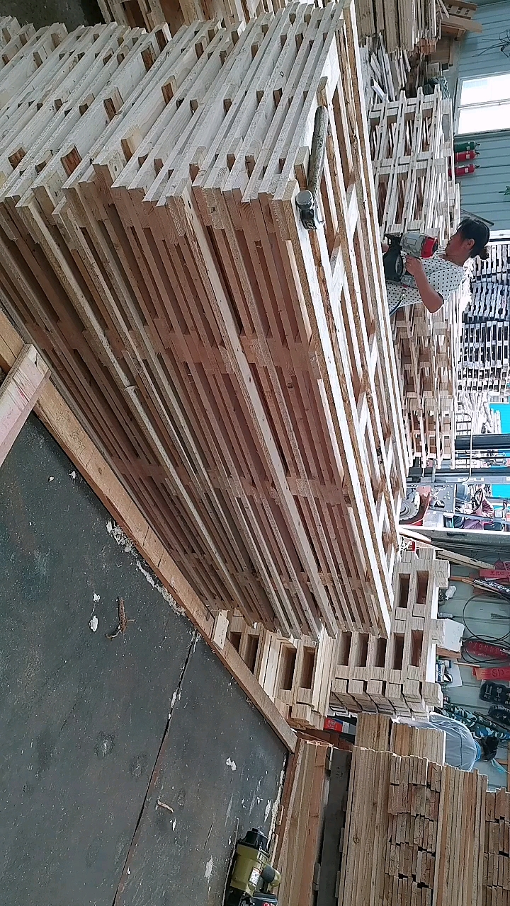 ヘンシェンカスタマイズパレット木製中国製