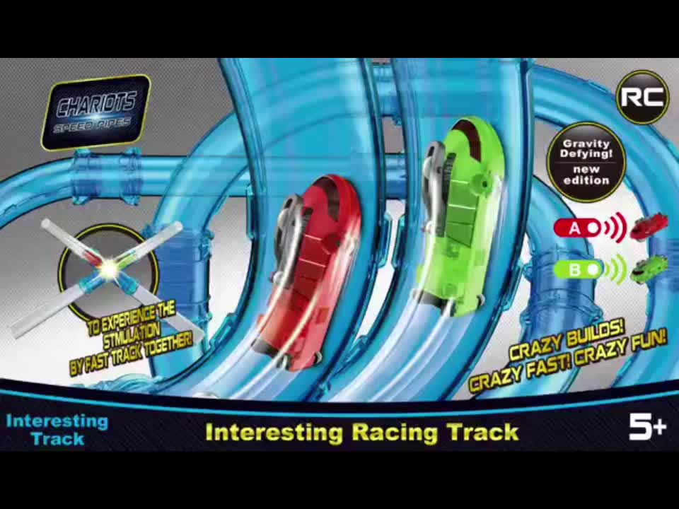 Popular Remote Control High Speed Car Track Toy for Kids