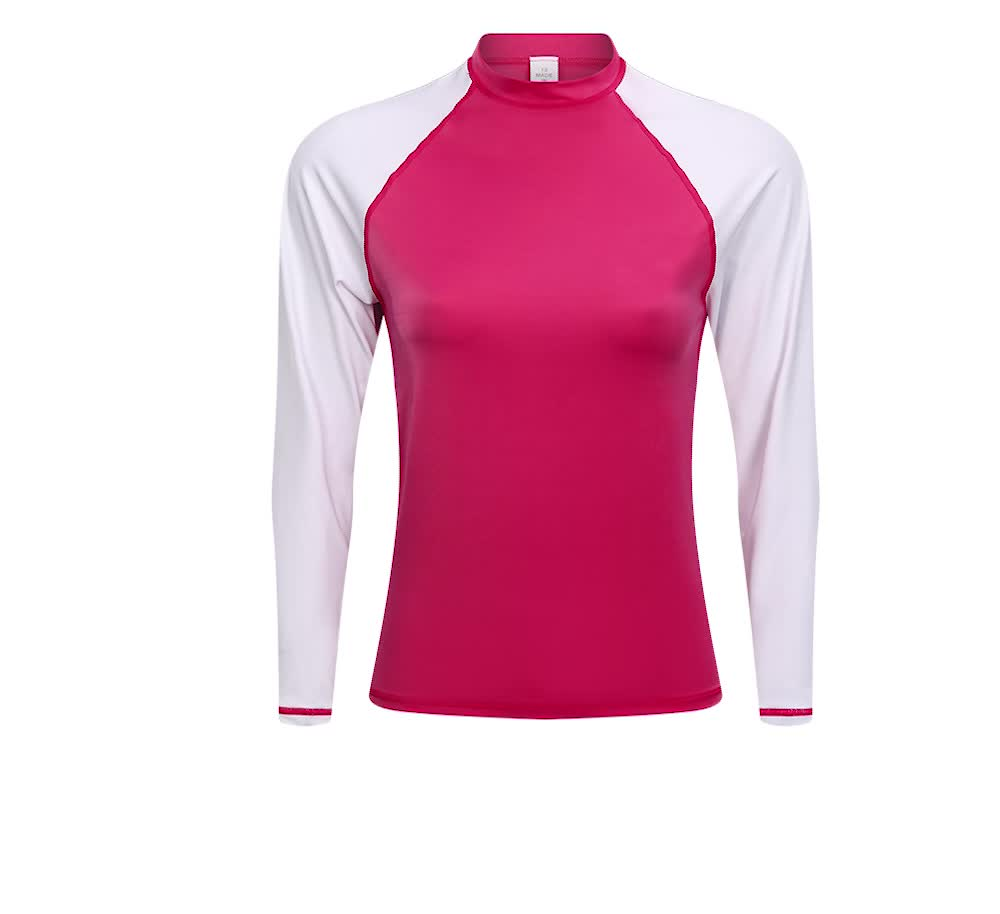Amazon hot selling surf rashguard top custom design rash guard