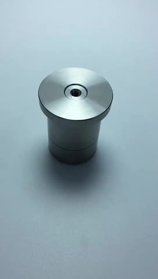factory stainless steel CNC lathe parts with screwing