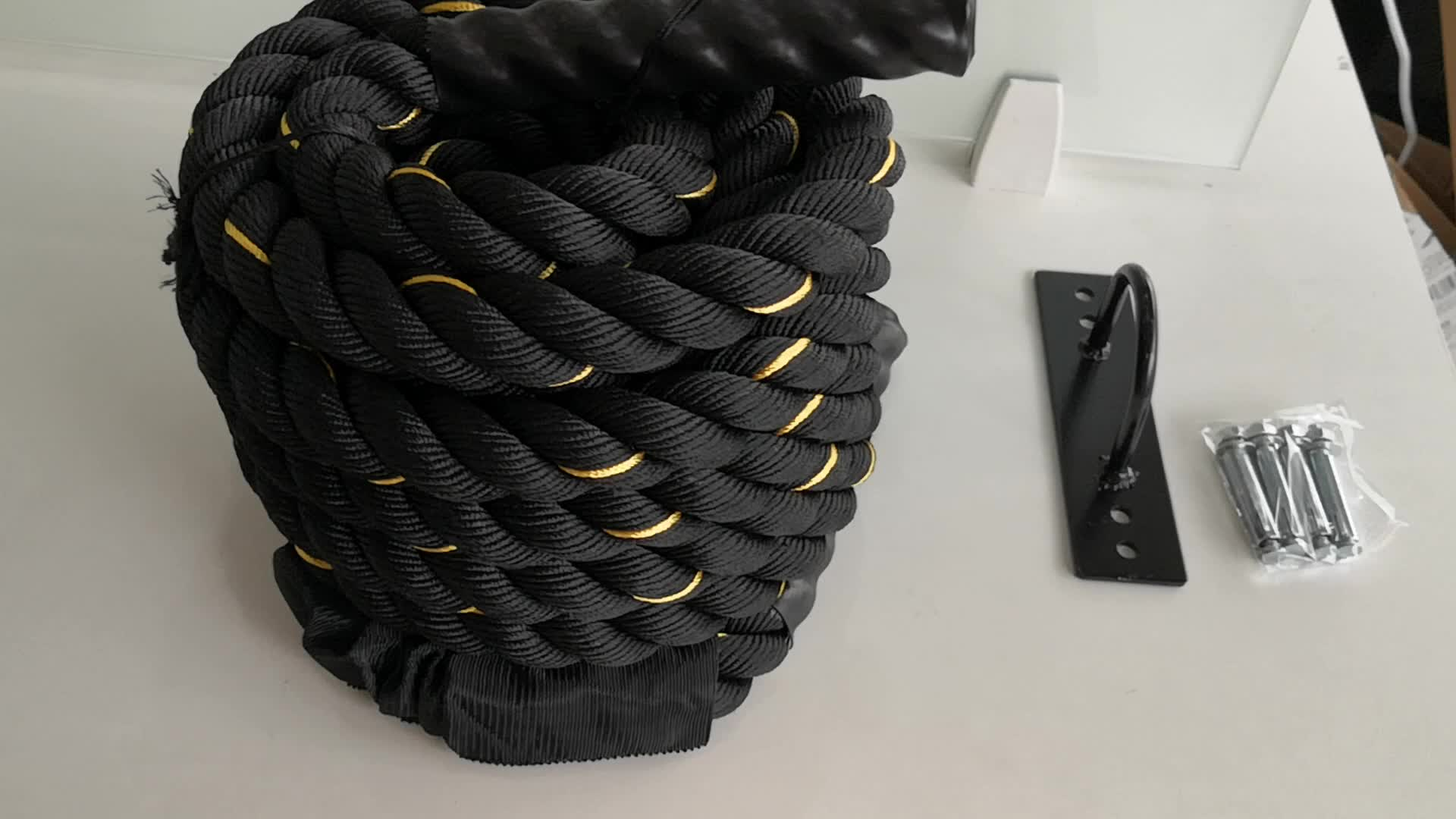 Workout fitness Training battle rope