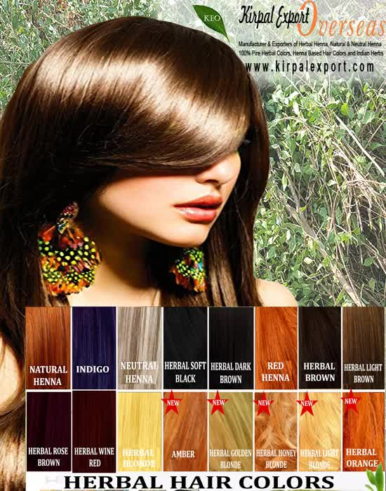 Wholesale Henna Natural Hair Colors