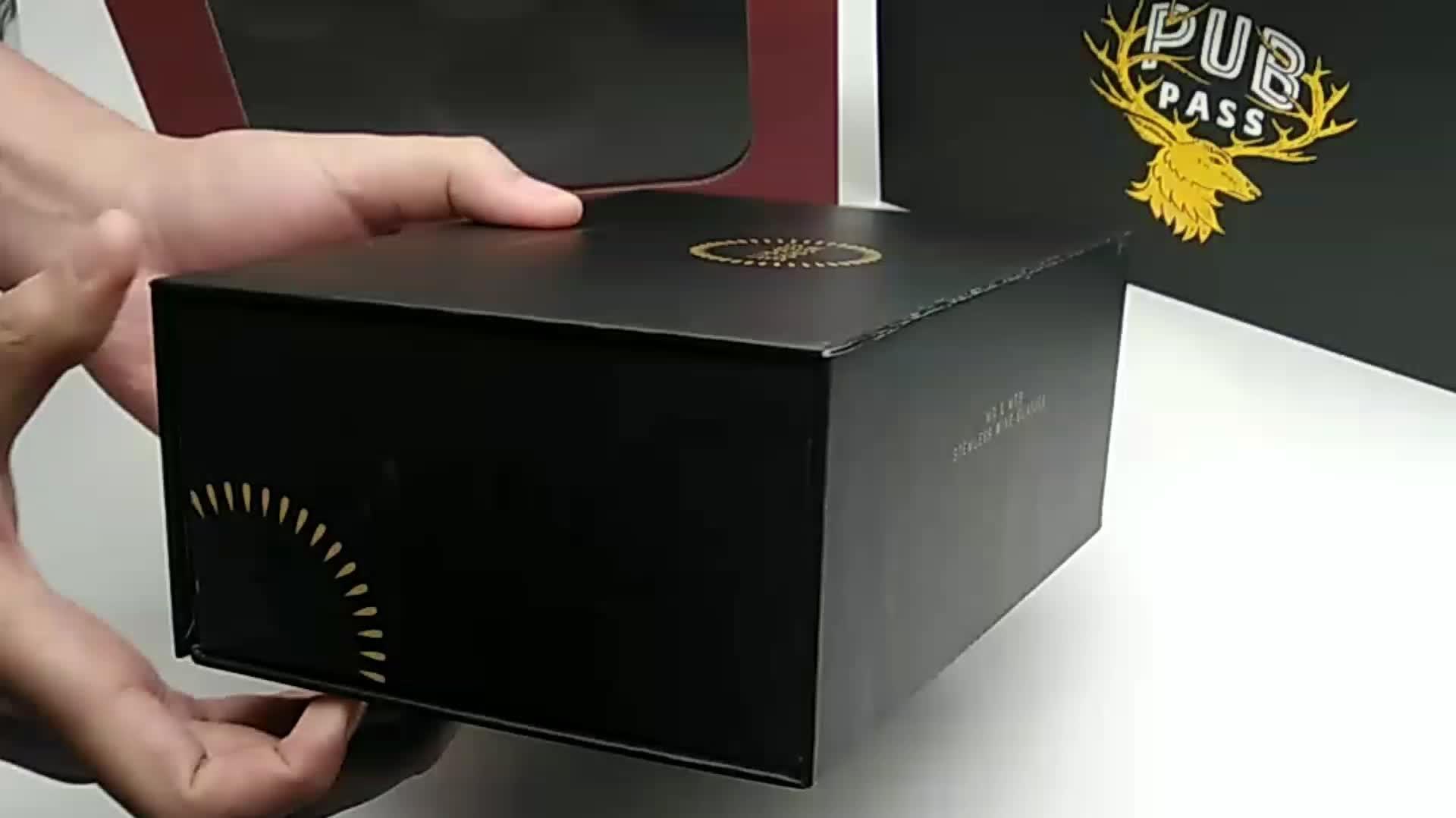 사용자 정의 판지 책 모양 선물 상자