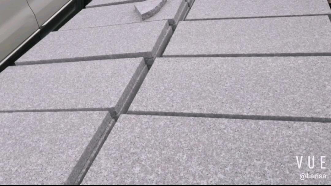 Granit Hubei Big Slab Gevlamd G603 Graniet, Goedkope China G603 Wit Grijs Natuurlijke Graniet/