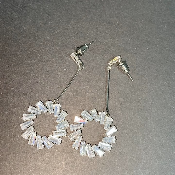 RAKOL S3104 ensemble de bijoux de forme ronde exquise Micro Pave bracelet et bague ensemble