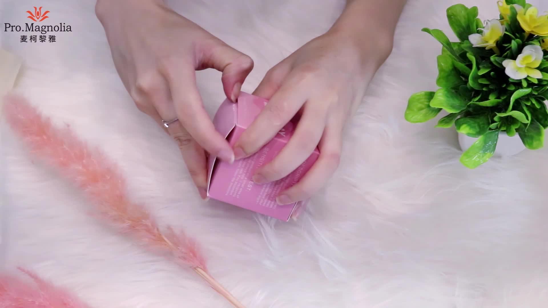 ピンクベントナイト粉末ローズ粘土にきびとにきび治療スキンケアのためのマスク