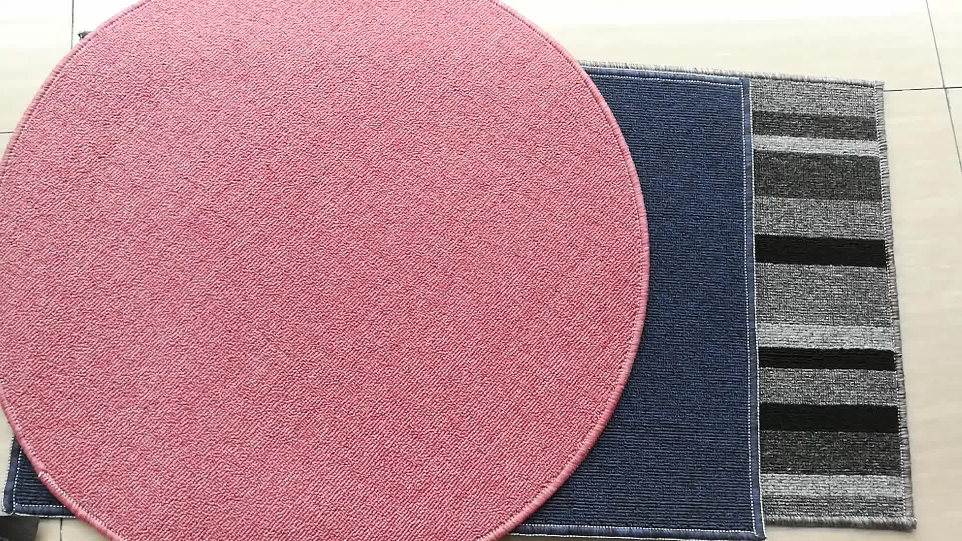 Vuelos baratos de China shaggy cut pila pp zapato impermeable limpieza puerta mat