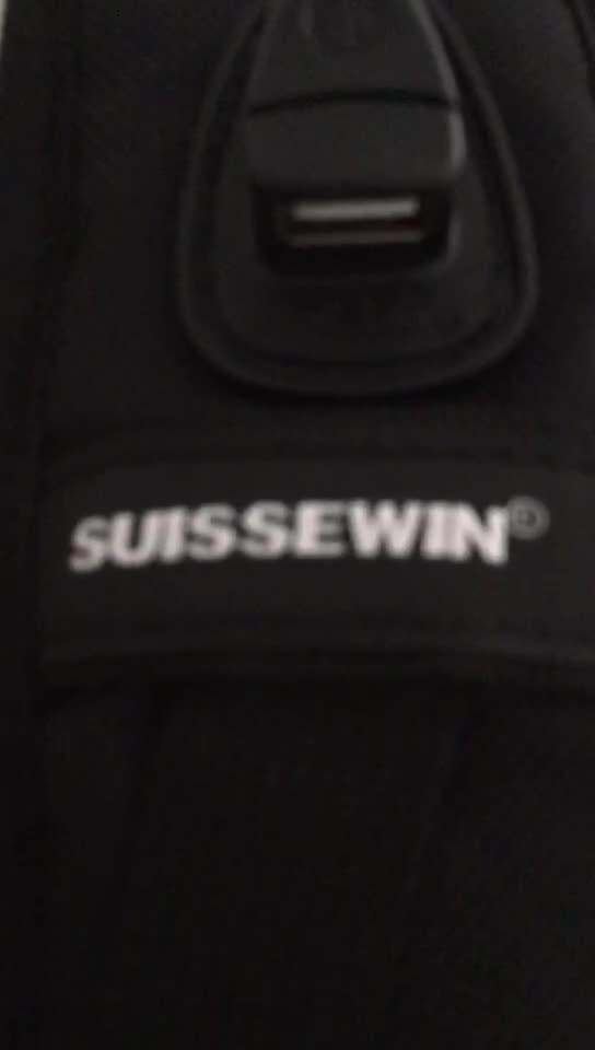 定制批发瑞士军刀旅行商务双肩包男2018新款百搭防水大容量背包