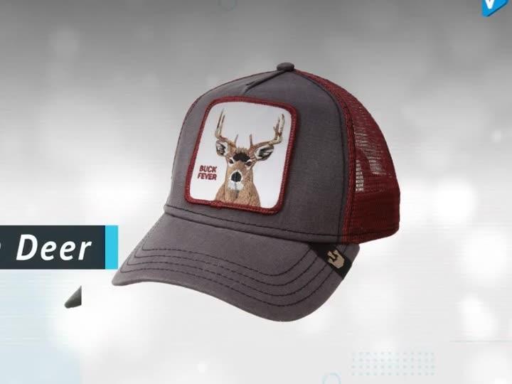 Hot selling embroidered logo 5 panel custom trucker cap hat sports caps
