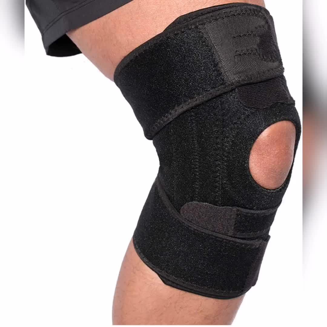 Anti-slip Neoprene Knee Sleeve Brace Relieves Patella Tendonitis Jumpers Knee Mensicus Tear