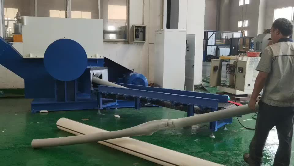 new model PM400 PE ABS PPR pipe crusher with high productivity