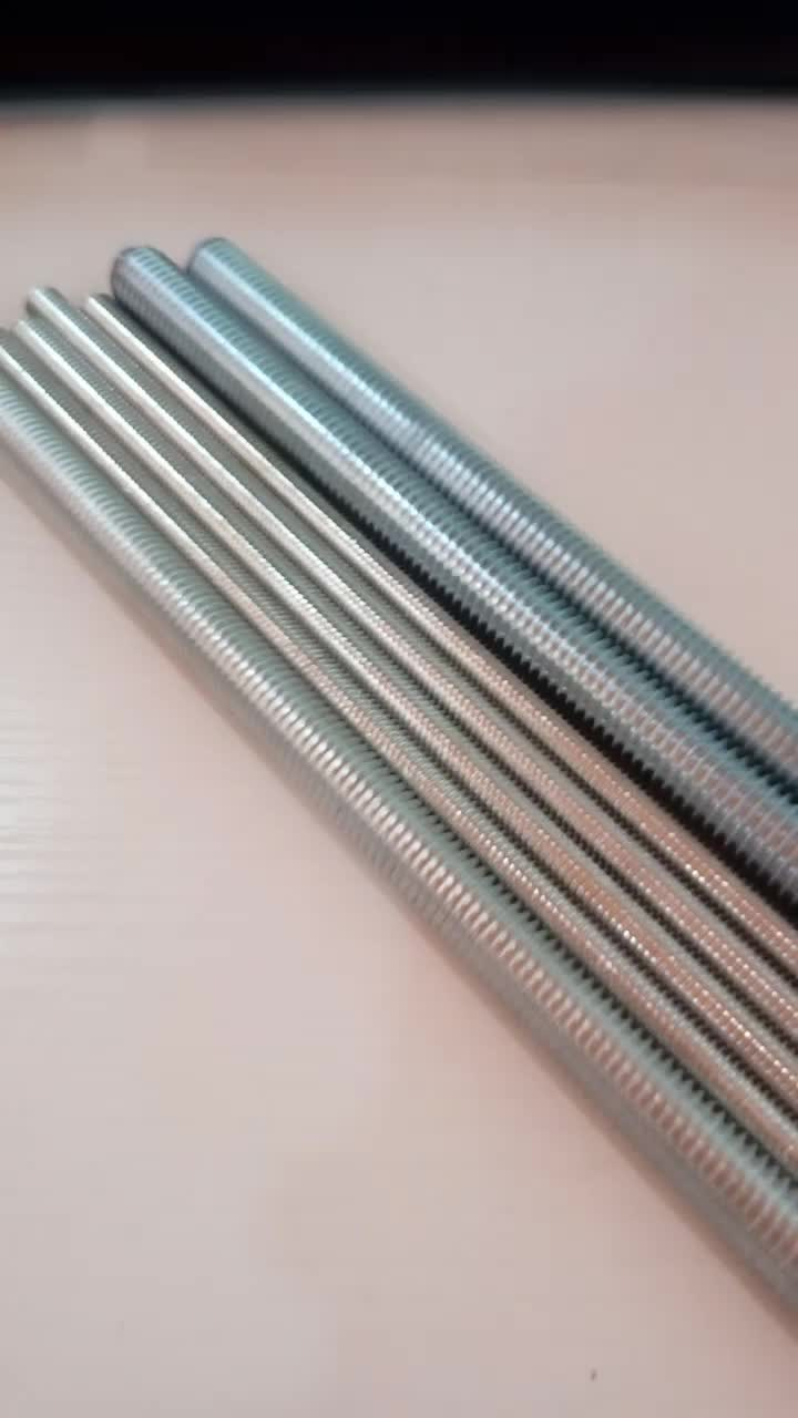 DIN975 M12 and M16 Popular Size in Kuwait Market Threaded Rod