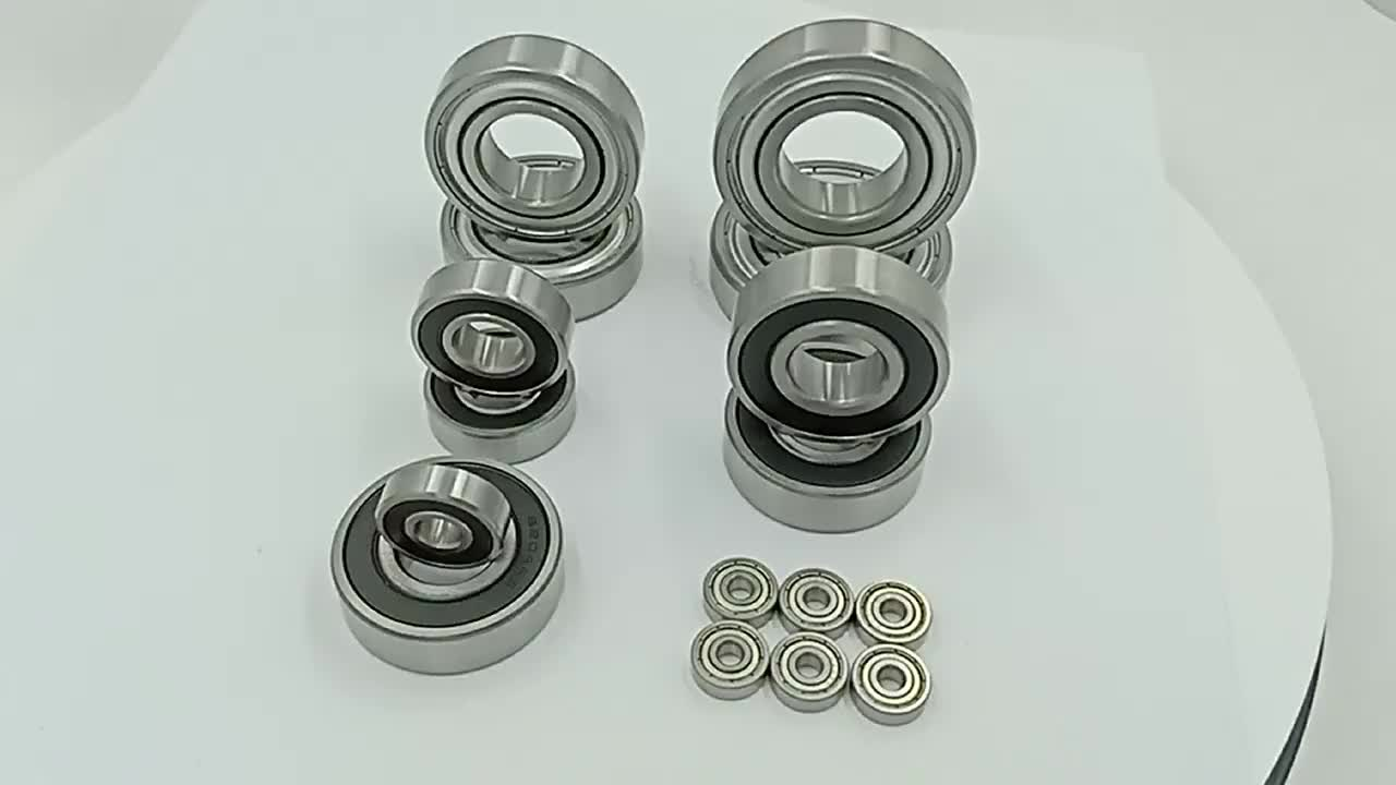 Deep Groove Ball Bearing 6203 6203-2RS 6203-RS Size 17*40*12mm Long Life for Generator and Motor