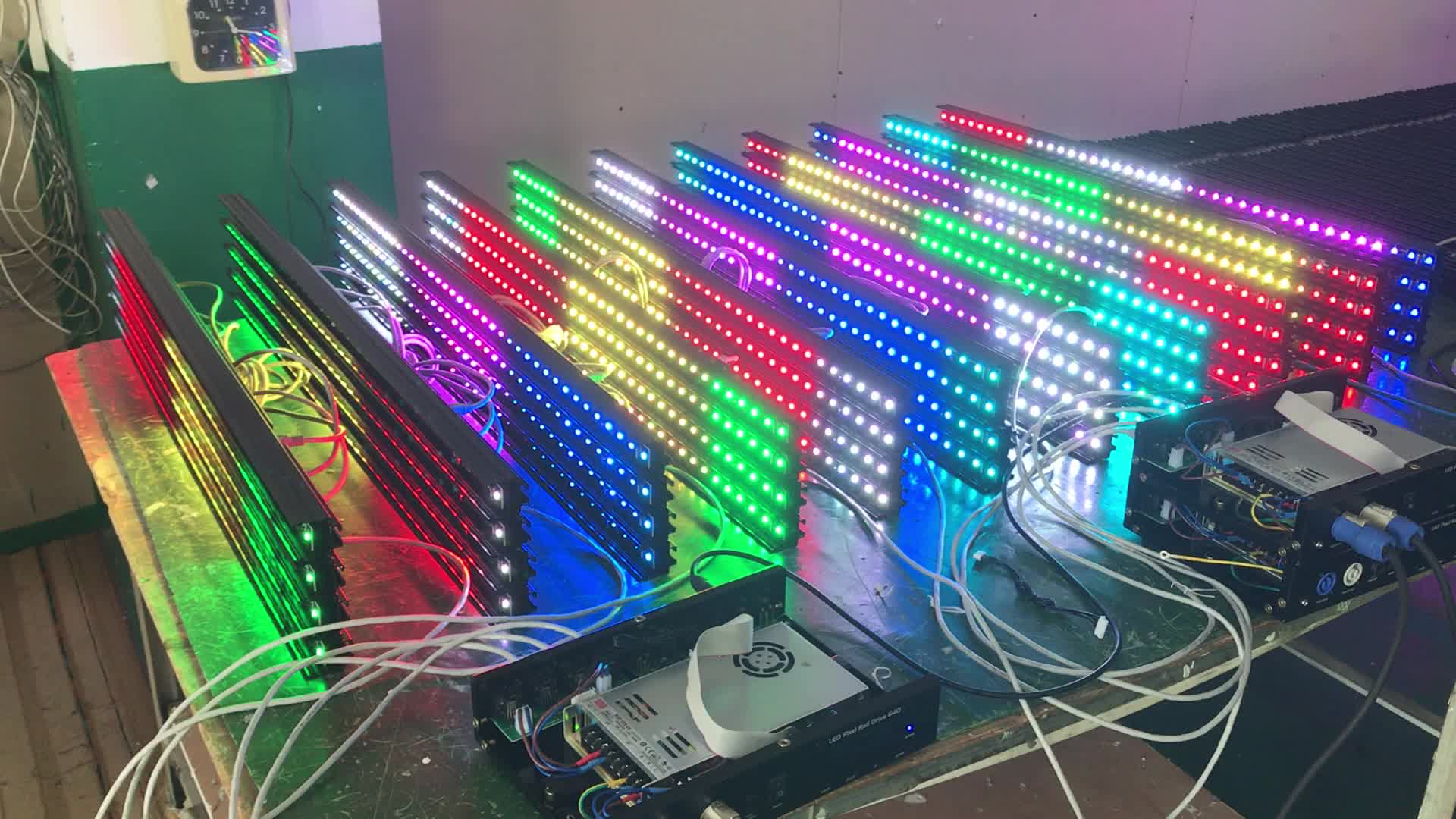 stage lighting CE certificated night club RGB color led pixel bar light