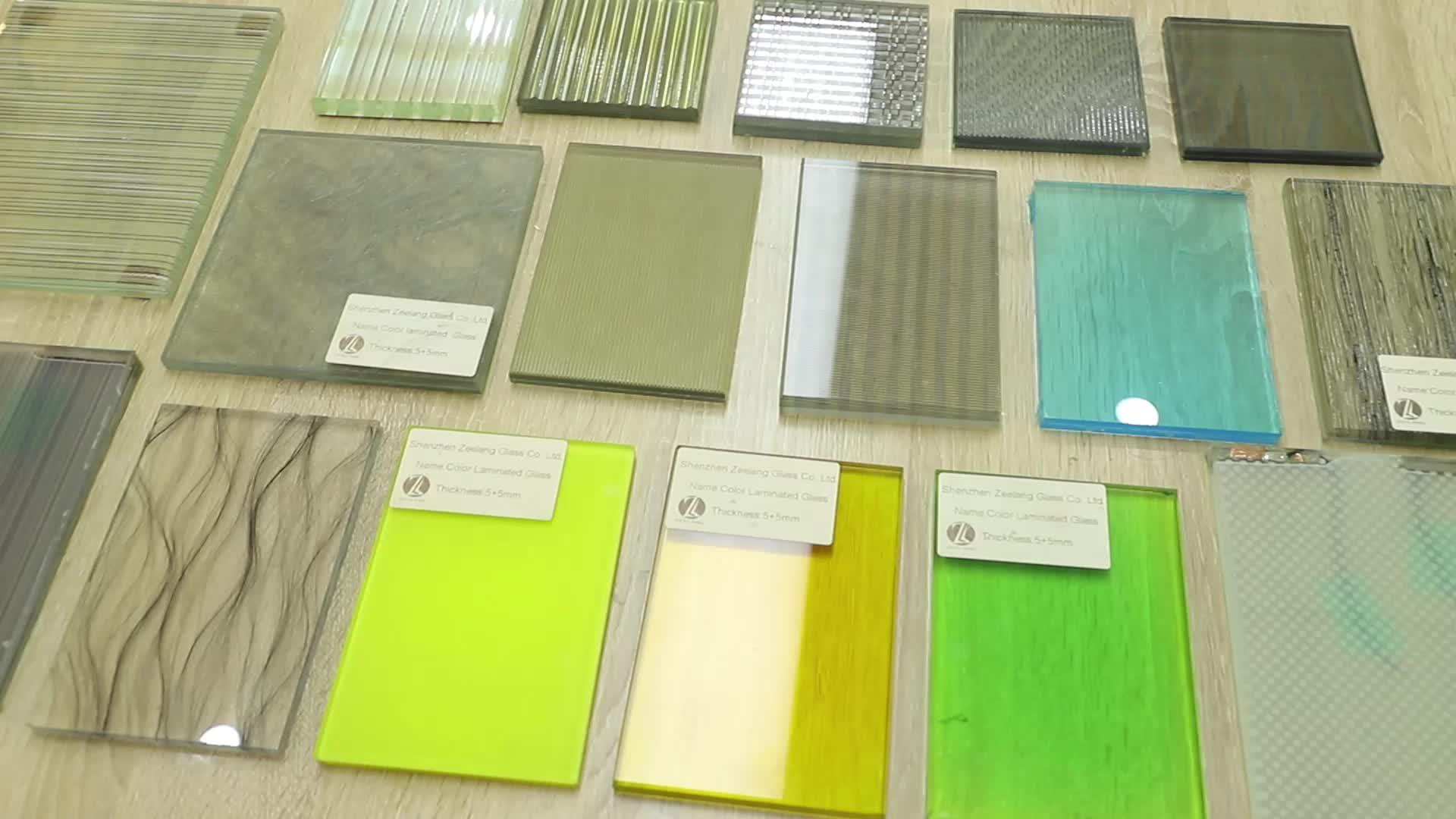 Chất lượng cao googd giá an toàn tempered kính nhiều lớp để xây dựng trang trí