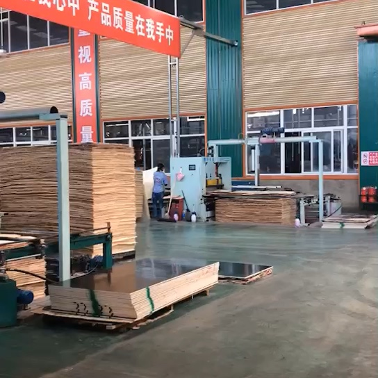 China Manufacturer High Quality Marine Film Faced Plywood
