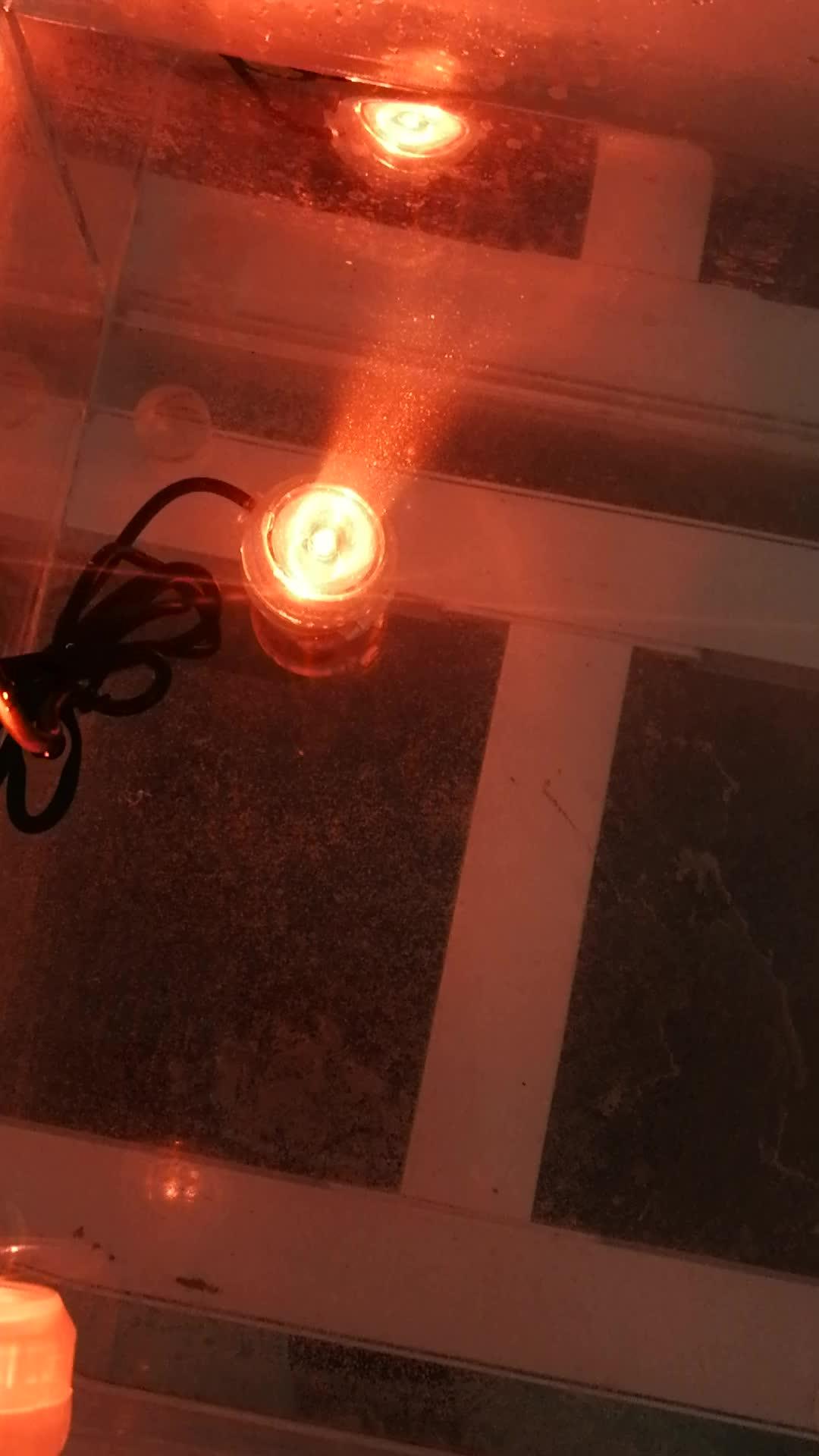 Seabillion Aquarium Led Spot Licht Kleine Mini Afstandsbediening Veranderende Kleur Aquarium Decoratieve lamp