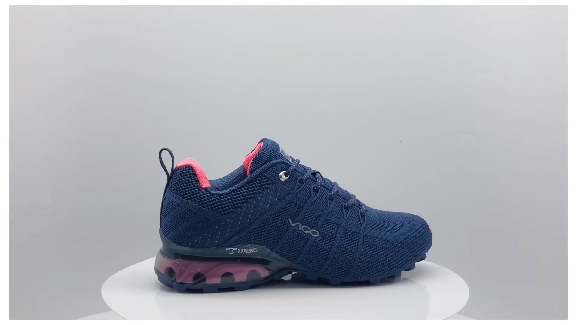 패션 EVA 고무 솔 도매 실행 메쉬 패브릭 최대 스포츠 신발