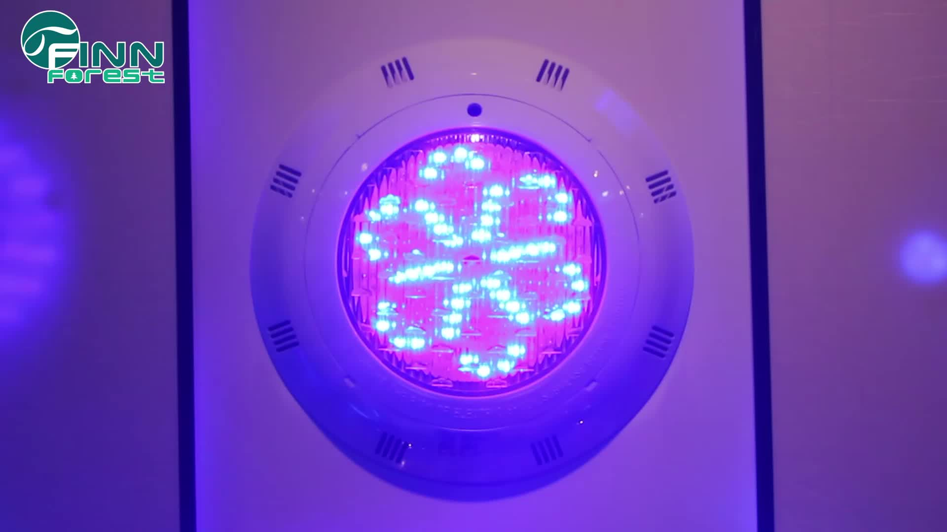 20W 12V IP68 Colorful Changeable Underwater Used Swimming Pool Light For Sale