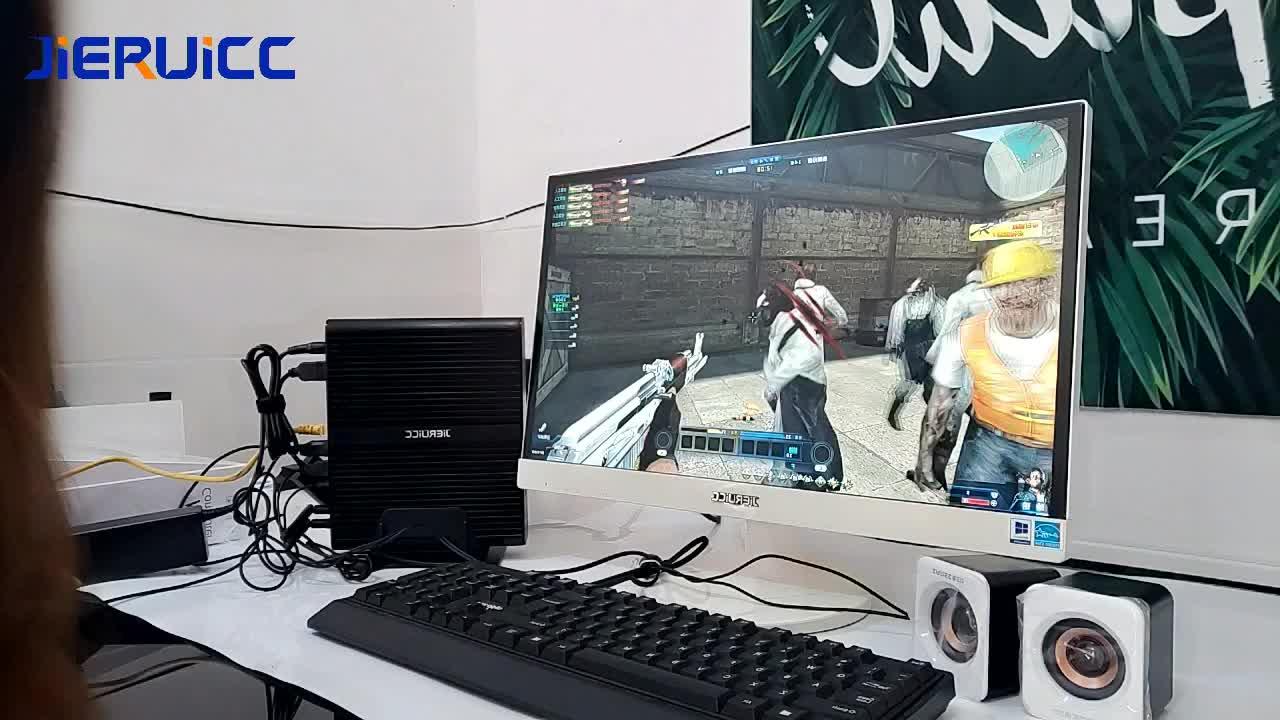 """新ファンレスミニインテル i7 10710U 10510U デスクトップ pc 窓 10 12 * DDR4 M.2 nvme + msata + 2.5 '""""sata 4 18k htpc ネットトップ"""