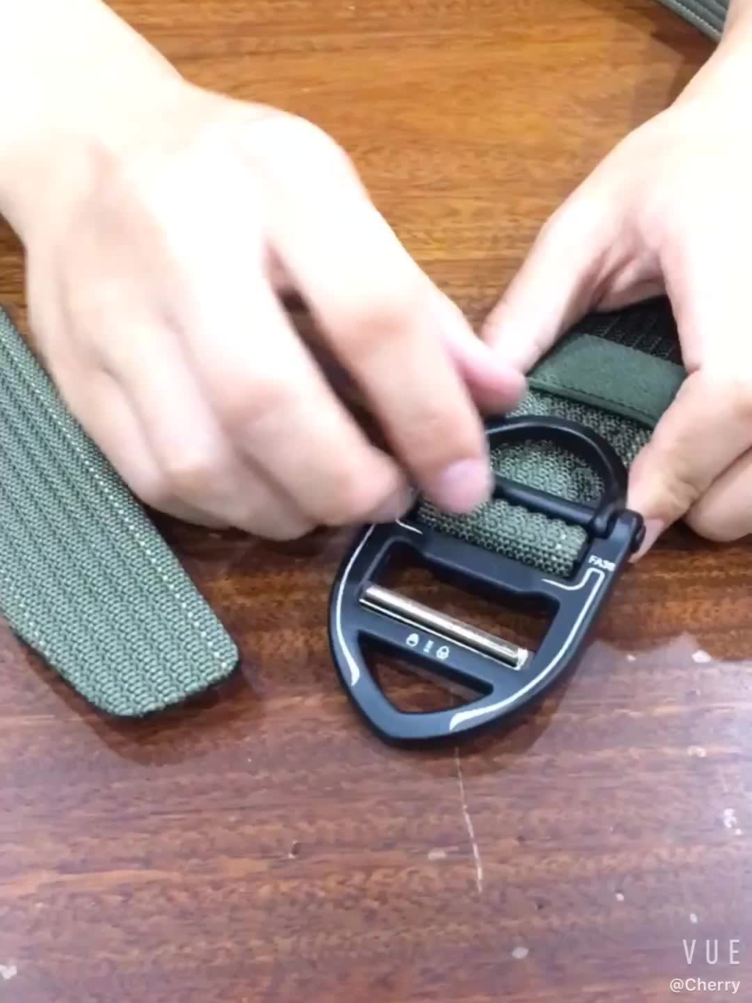 Custom  Camouflage Military  Nylon Duty Belt With  Zinc Ally Buckle Material For Mens
