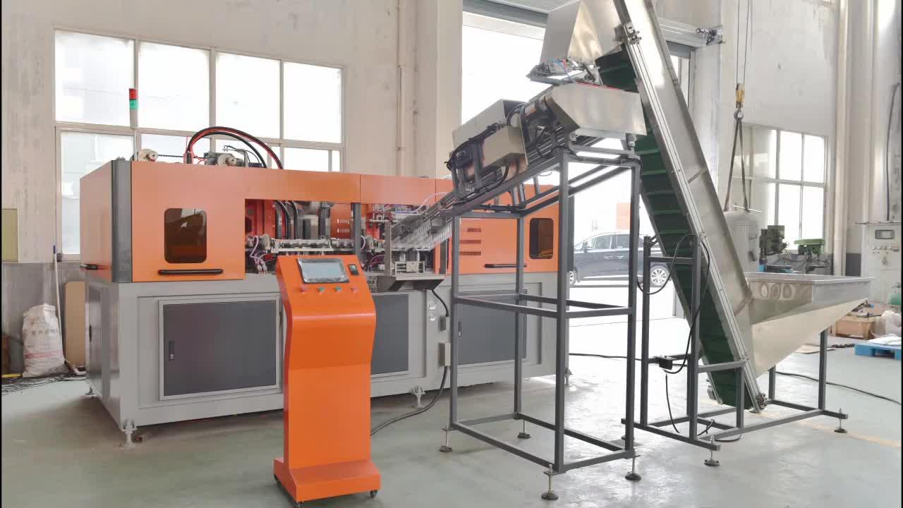 3 Cavity Fully Automatic PET Bottle Blow Molding Machine / machinery / equipment