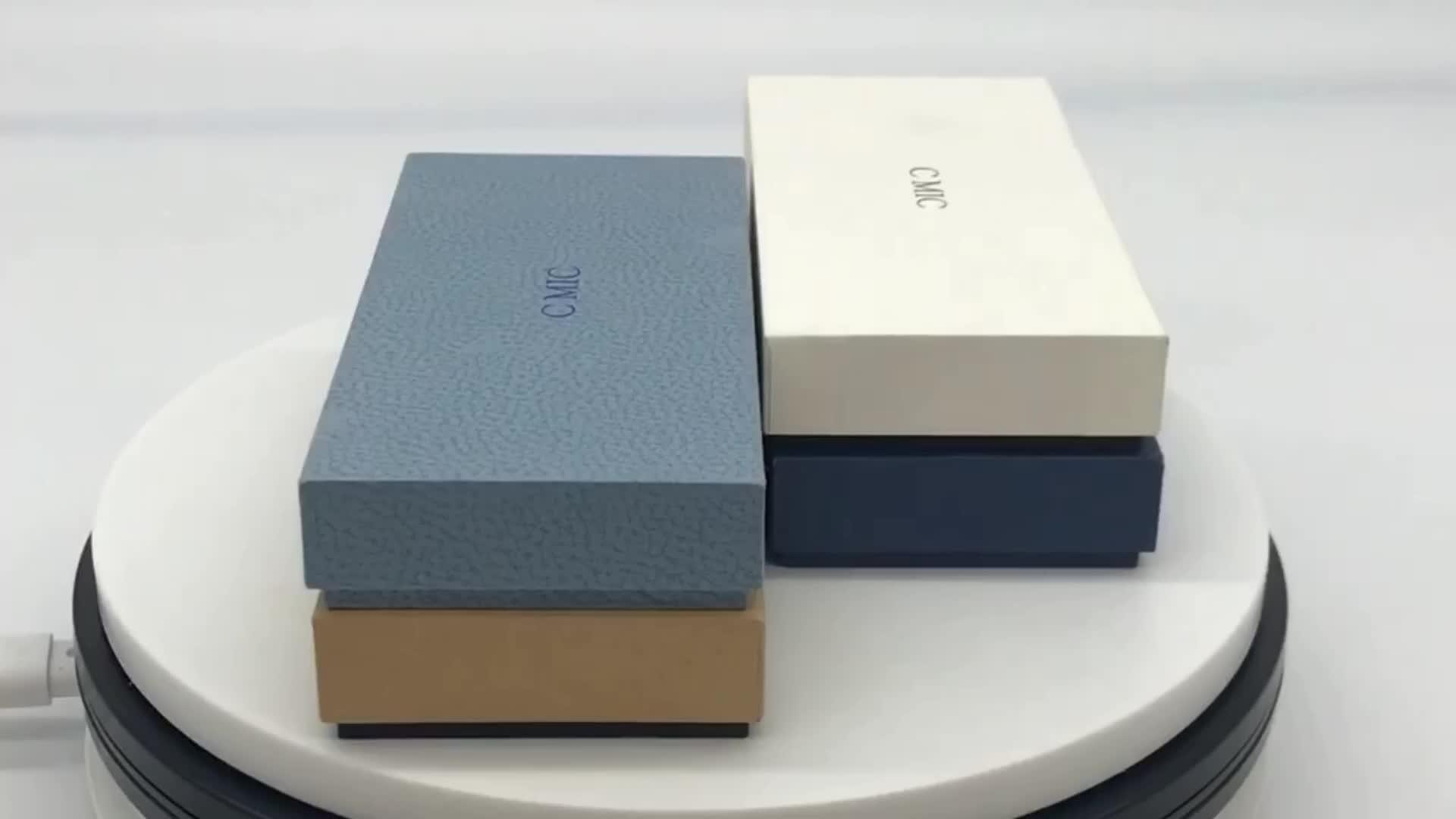 Custom Premium Eco Friendly Fancy Empty Storage Wedding Jewelry Kraft Paper Box For Chocolate