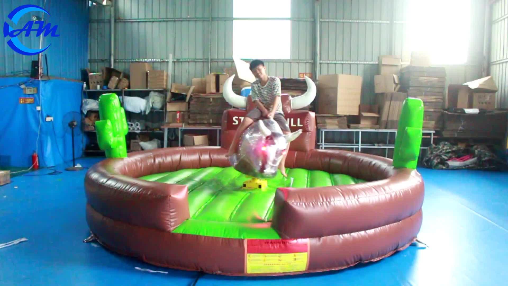 Touro mecânico inflável incrível preço competitivo para venda